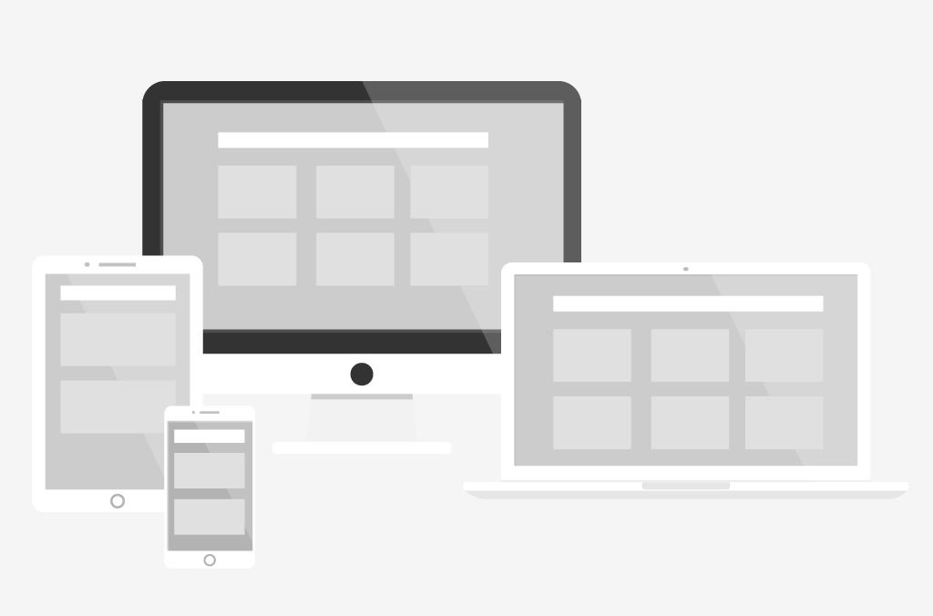Infografik Responsive Webdesign