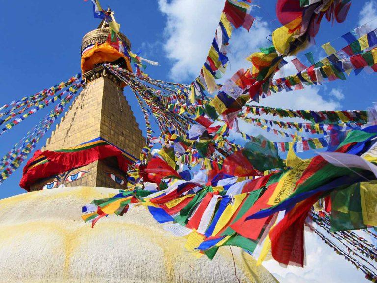 Kathmandu Bouddha Martin Keller